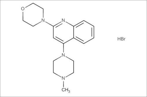 4-(4-(4-Methylpiperazin-1-yl)quinolin-2-yl)morpholine hydrobromide