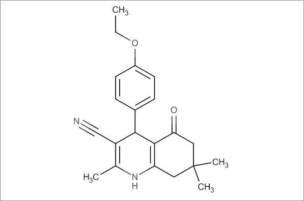 4-(4-Ethoxyphenyl)-2,7,7-trimethyl-5-oxo-1,4,5,6,7,8-hexahydroquinoline-3-carbonitrile