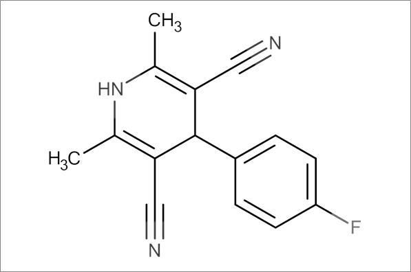 4-(4-Fluorophenyl)-2,6-dimethyl-1,4-dihydropyridine-3,5-dicarbonitrile