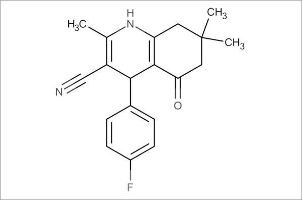 4-(4-Fluorophenyl)-2,7,7-trimethyl-5-oxo-1,4,5,6,7,8-hexahydroquinoline-3-carbonitrile
