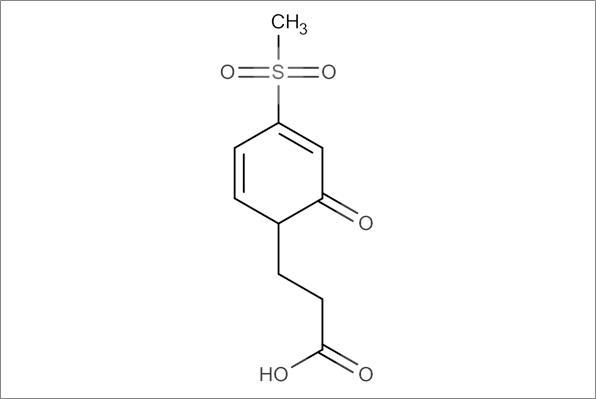 4-(4-Methanesulfonyloxophenyl)-propanoic acid
