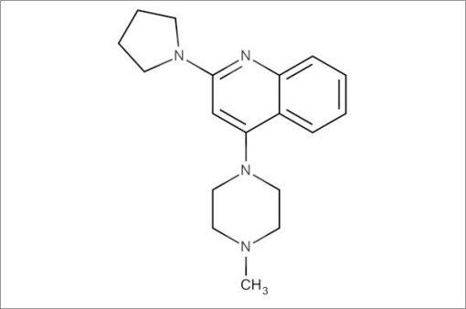 4-(4-Methylpiperazin-1-yl)-2-(pyrrolidin-1-yl)quinoline