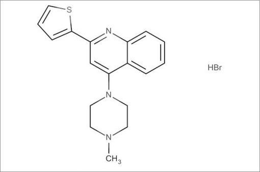 4-(4-Methylpiperazin-1-yl)-2-(thiophen-2-yl)quinoline hydrobromide