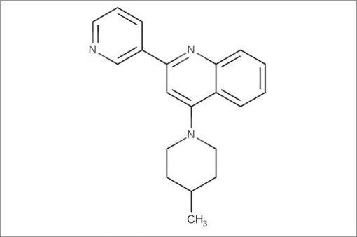 4-(4-Methylpiperidin-1-yl)-2-(pyridin-3-yl)quinoline