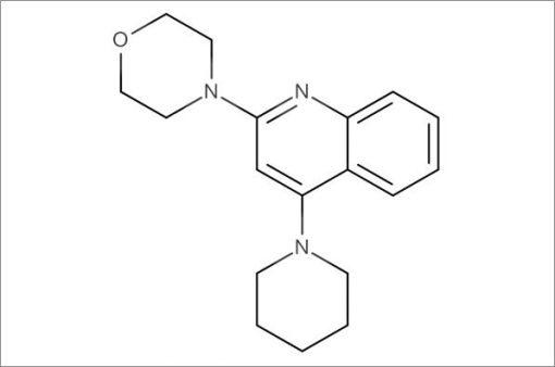 4-(4-(Piperidin-1-yl)quinolin-2-yl)morpholine