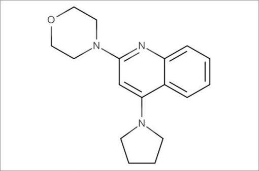 4-(4-(Pyrrolidin-1-yl)quinolin-2-yl)morpholine
