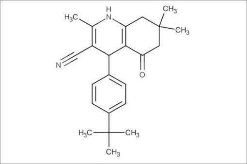 4-(4-(tert-Butyl)phenyl)-2,7,7-trimethyl-5-oxo-1,4,5,6,7,8-hexahydroquinoline-3-carbonitrile