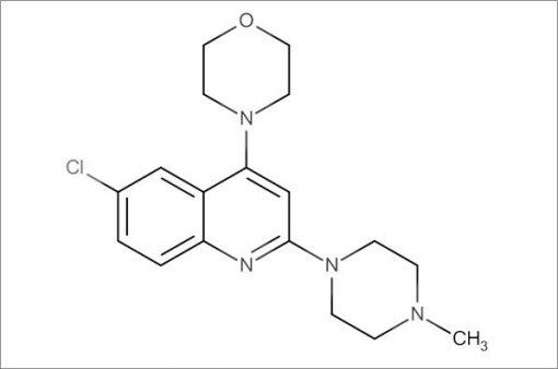4-(6-Chloro-2-(4-methylpiperazin-1-yl)quinolin-4-yl)morpholine