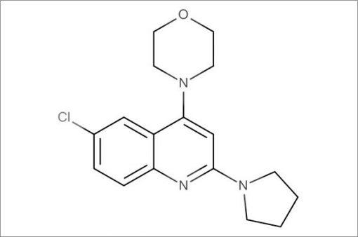 4-(6-Chloro-2-(pyrrolidin-1-yl)quinolin-4-yl)morpholine