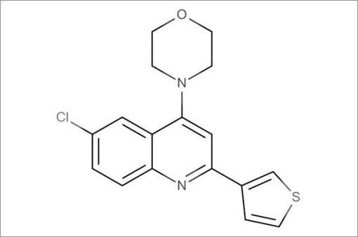4-(6-Chloro-2-(thiophen-3-yl)quinolin-4-yl)morpholine