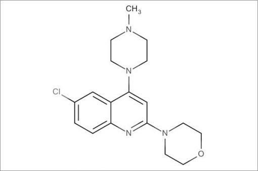 4-(6-Chloro-4-(4-methylpiperazin-1-yl)quinolin-2-yl)morpholine