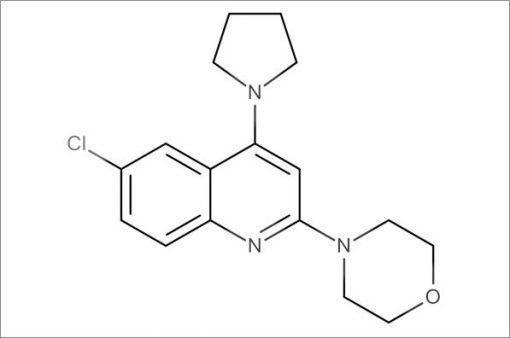 4-(6-Chloro-4-(pyrrolidin-1-yl)quinolin-2-yl)morpholine