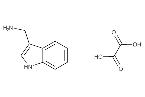 4-(Aminomethyl)-indole oxalate salt, min