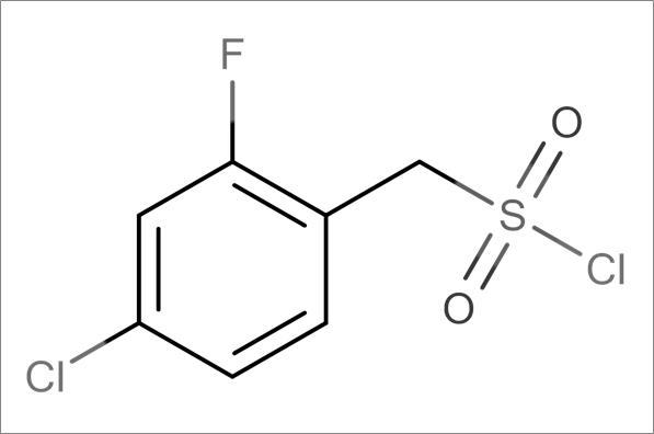 (4-Chloro-2-fluorophenyl)methanesulfonyl chloride
