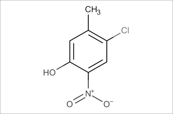 4-Chloro-3-methyl-6-nitrophenol