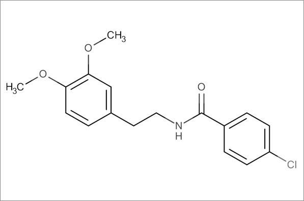 4-Chloro-N-(3,4-dimethoxyphenethyl)benzamide