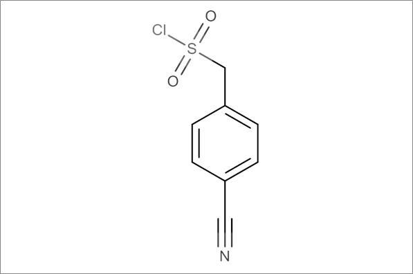 (4-Cyanophenyl)methanesulfonyl chloride