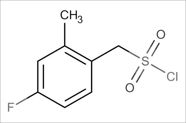 (4-Fluoro-2-methylphenyl)methanesulfonyl chloride