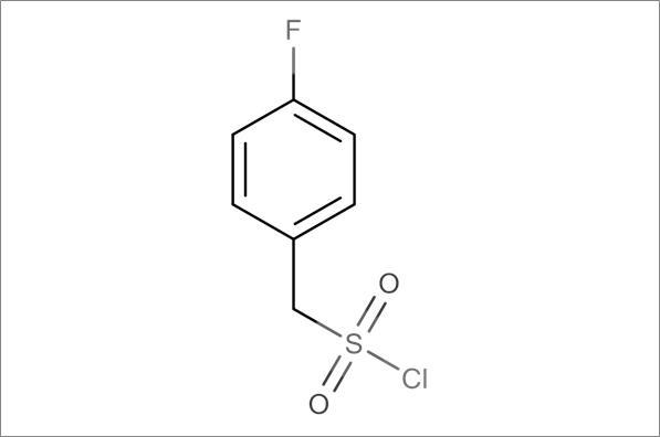 (4-Fluorophenyl)methanesulfonyl chloride