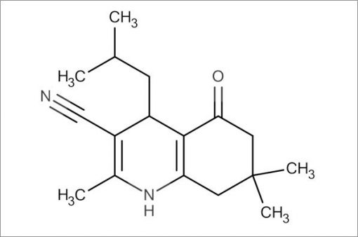 4-Isobutyl-2,7,7-trimethyl-5-oxo-1,4,5,6,7,8-hexahydroquinoline-3-carbonitrile