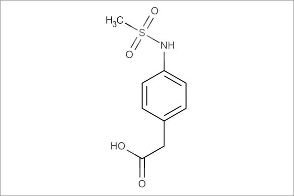 4-(Methanesulfonylamino)phenylacetic acid, min.