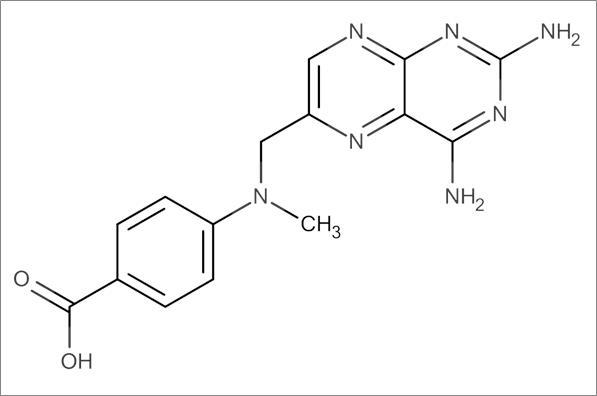 4-(N-(2,4-Diamino-6-pteridinylmethyl)-N-methylamino)benzoic acid