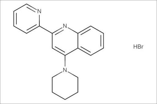 4-(Piperidin-1-yl)-2-(pyridin-2-yl)quinoline hydrobromide