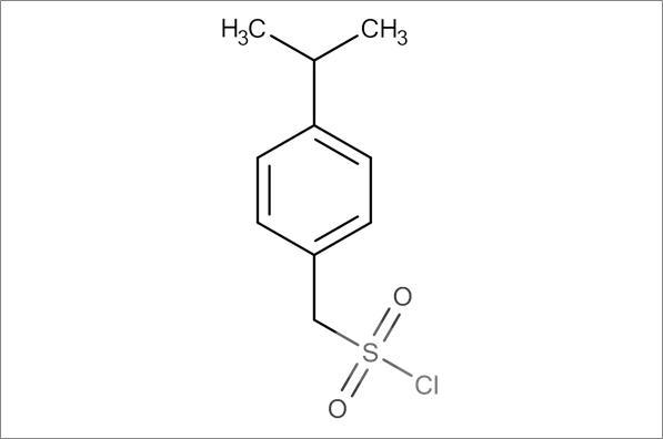 (4-Propan-2-ylphenyl)methanesulfonyl chloride