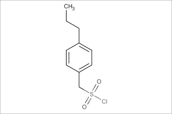 (4-Propylphenyl)methanesulfonyl chloride