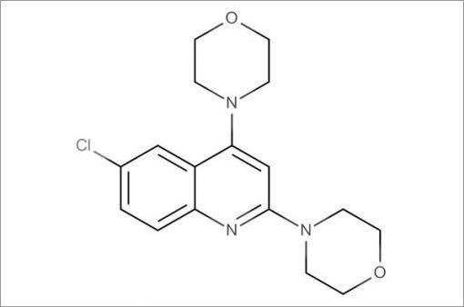 4,4'-(6-Chloroquinoline-2,4-diyl)dimorpholine