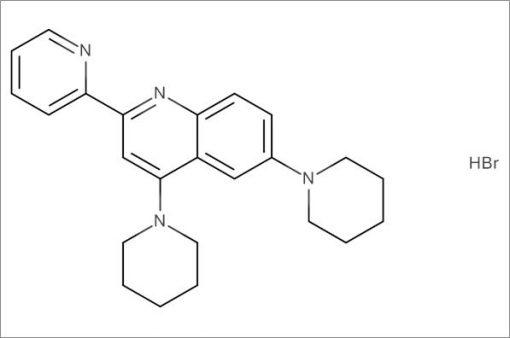 4,6-Di(piperidin-1-yl)-2-(pyridin-2-yl)quinoline hydrobromide