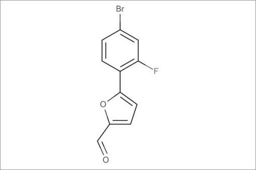 5-(4-Bromo-2-fluorophenyl)furan-2-carbaldehyde