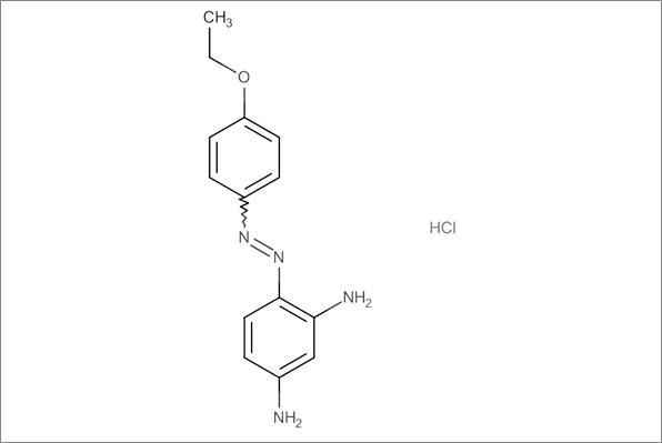 5-(4-Ethoxyphenylazo)-m-phenylenediamine hydrochloride