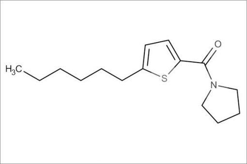 (5-Hexylthiophen-2-yl)(pyrrolidin-1-yl)methanone
