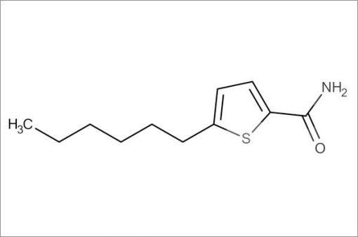 5-Hexylthiophene-2-carboxamide