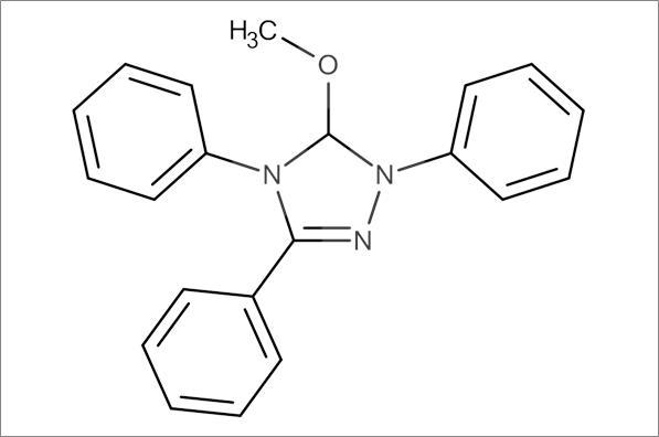 5-Methoxy-1,3,4-triphenyl-4,5-dihydro-1H-1,2,4-triazoline