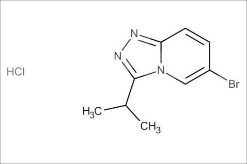 6-Bromo-3-isopropyl-[1,2,4]triazolo[4,3-a]pyridine hydrochloride