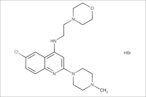 6-Chloro-2-(4-methylpiperazin-1-yl)-N-(2-morpholinoethyl)quinolin-4-amine hydrobromide
