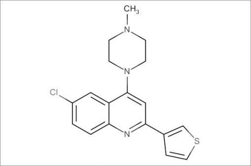 6-Chloro-4-(4-methylpiperazin-1-yl)-2-(thiophen-3-yl)quinoline