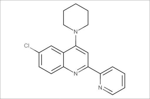 6-Chloro-4-(piperidin-1-yl)-2-(pyridin-2-yl)quinoline