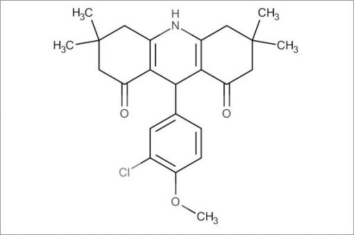 9-(3-Chloro-4-methoxyphenyl)-3,3,6,6-tetramethyl-3,4,6,7,9,10-hexahydroacridine-1,8(2H,5H)-dione