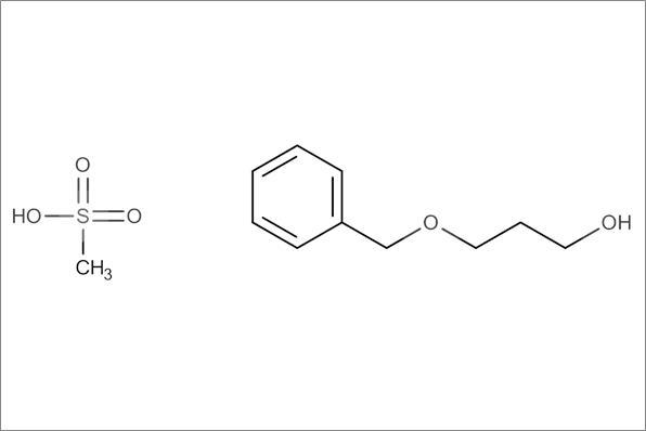 Benzyl oxopropyl mesylate