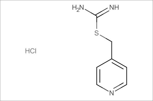 Carbamimidothioic acid 4-pyridinylmethyl ester hydrochloride