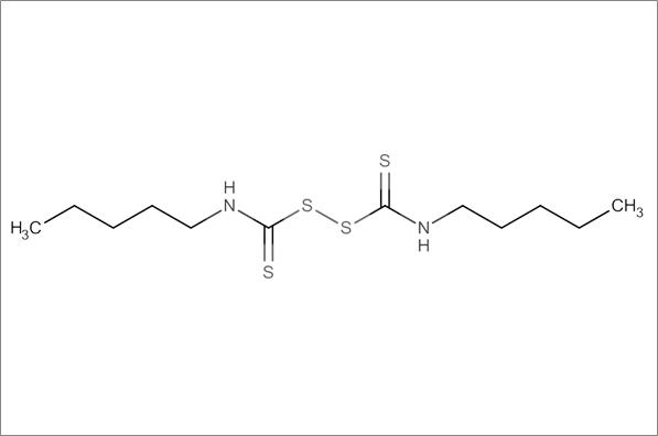 Dicyclopentamethylenethiuram disulfide