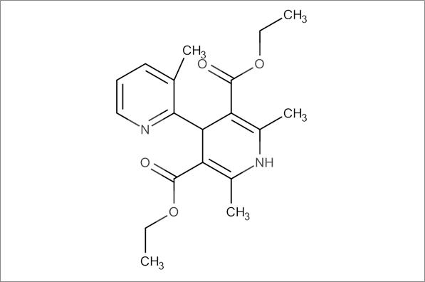 Diethyl 2',3,6'-trimethyl-1',4'-dihydro-[2,4'-bipyridine]-3',5'-dicarboxylate