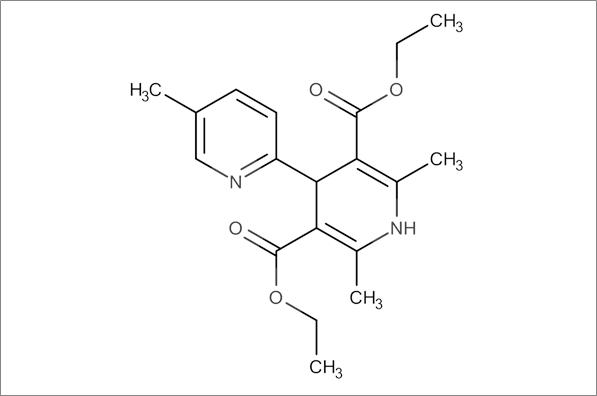 Diethyl 2',5,6'-trimethyl-1',4'-dihydro-[2,4'-bipyridine]-3',5'-dicarboxylate