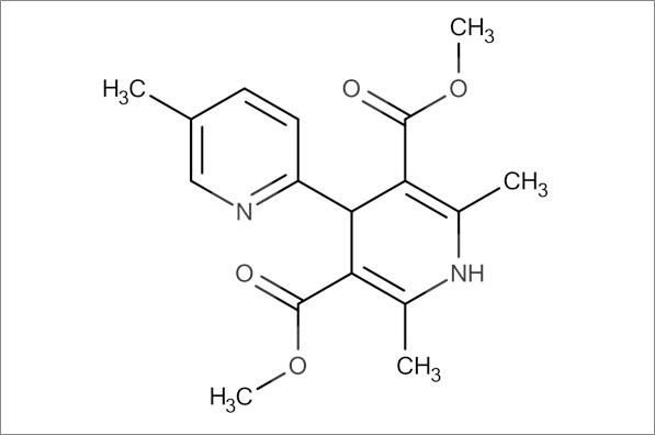 Dimethyl 2',5,6'-trimethyl-1',4'-dihydro-[2,4'-bipyridine]-3',5'-dicarboxylate