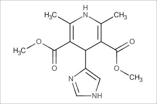 Dimethyl 4-(1H-imidazol-4-yl)-2,6-dimethyl-1,4-dihydropyridine-3,5-dicarboxylate