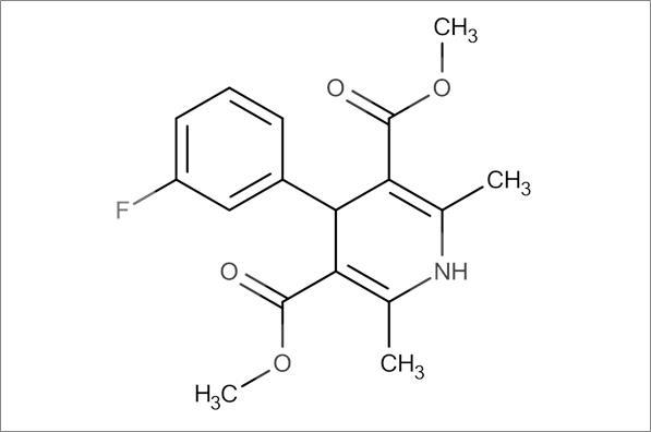 Dimethyl 4-(3-fluorophenyl)-2,6-dimethyl-1,4-dihydropyridine-3,5-dicarboxylate