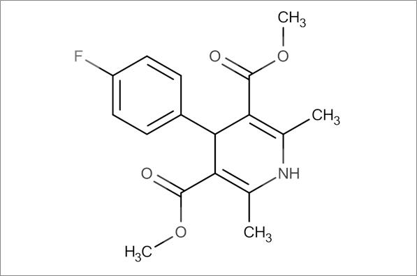 Dimethyl 4-(4-fluorophenyl)-2,6-dimethyl-1,4-dihydropyridine-3,5-dicarboxylate